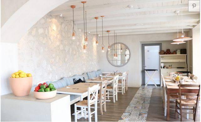Ελληνικό εστιατόριο Dubai- Πατητή τσιμεντοκονία